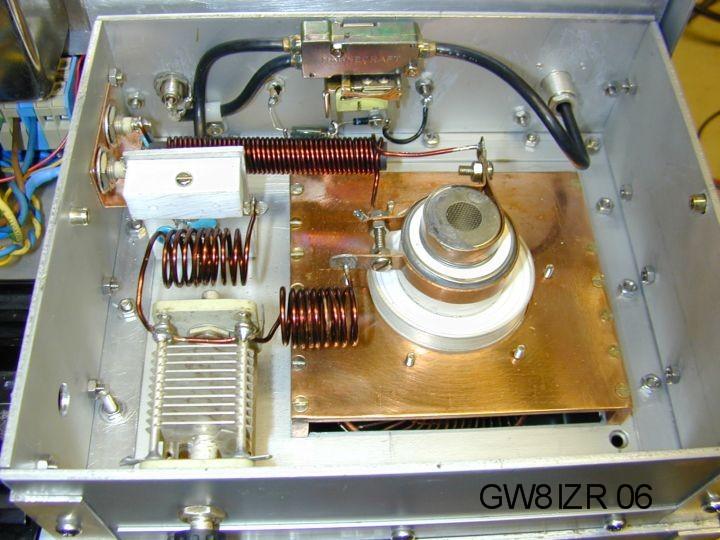 GW8IZR 50MHz amplifier with GS35b